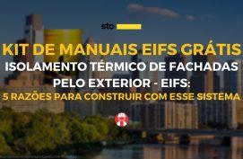 EIFS - Isolamanento térmico de fachadas pelo exterior