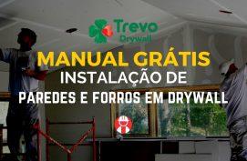 Manual de instalação de drywall trevo - gestor de obras