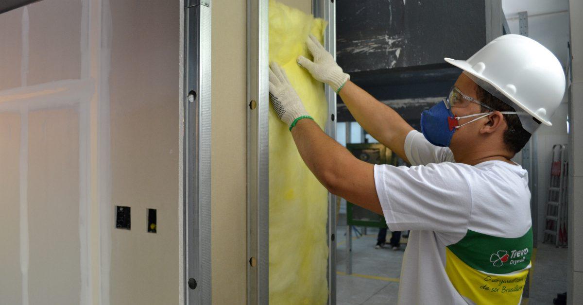 Drywall aumenta conforto térmico nos dias mais frios