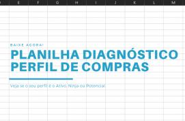 Planilha para Diagnóstico de Perfil de Compras